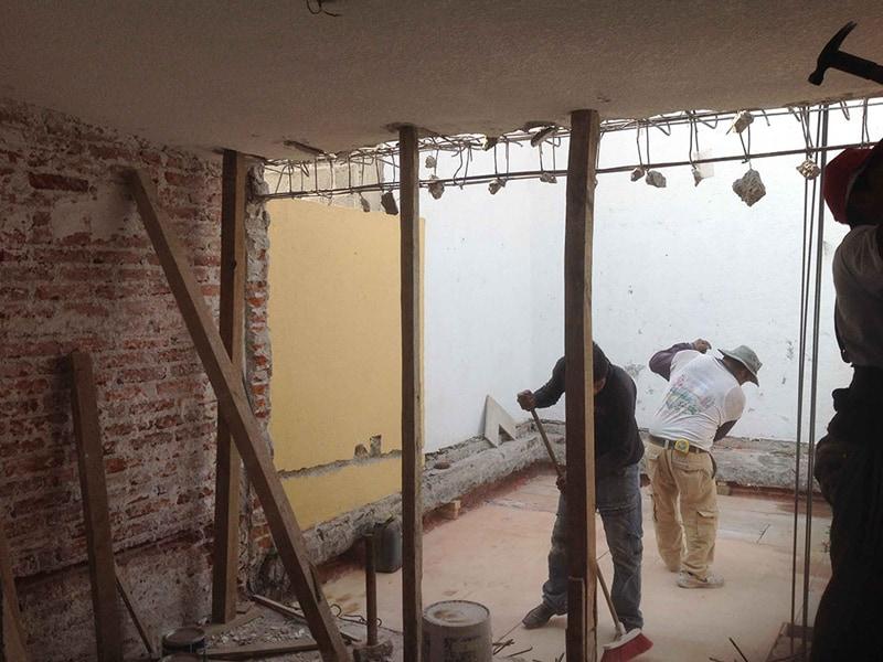 Trabajos de limpieza de Demoliciones