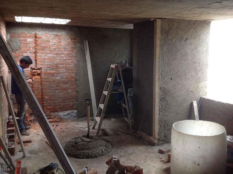 Aplanados de Cemento en muros