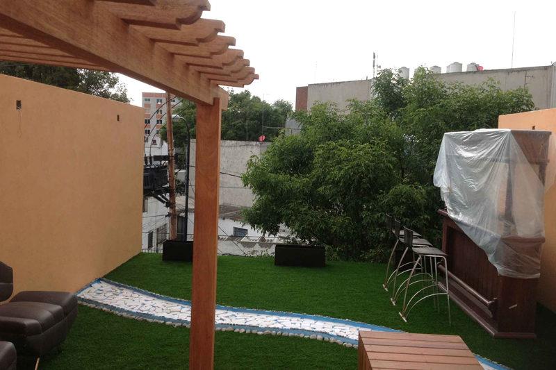 Vista 3 Roff Garden terminado