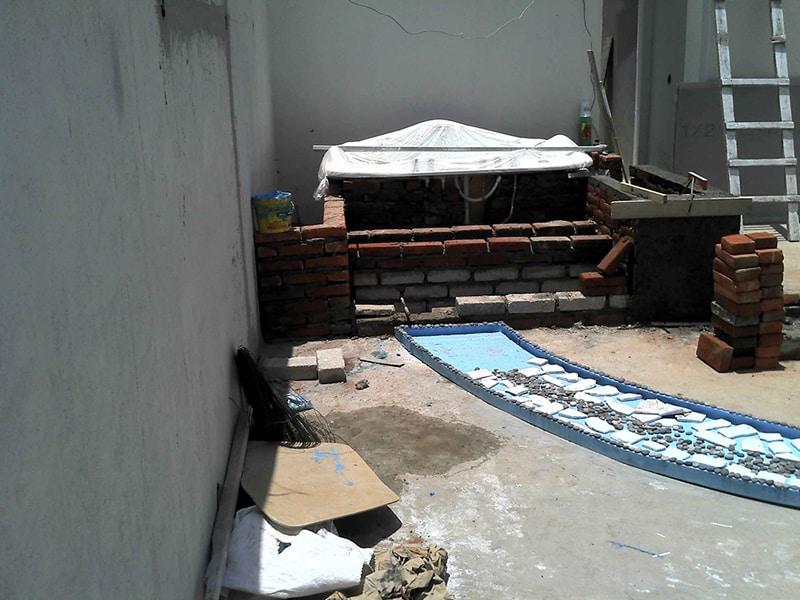 Instalacion De Jacuzzi.Instalacion De Un Jacuzzi Como Parte De Un Roof Garden