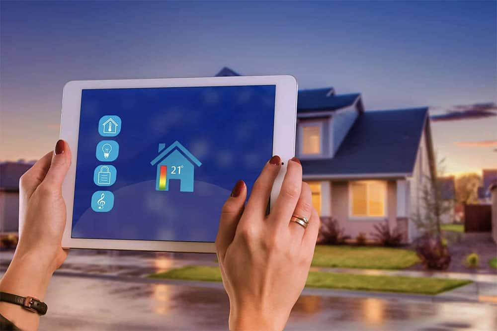 casa inteligente domotica